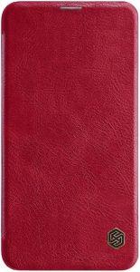 Кожаный чехол для Samsung Galaxy S10e (G970) Nillkin Qin Series Red
