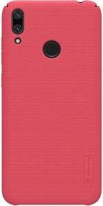Чехол для Huawei Y7 (2019) / Huawei Y7 Prime (2019) Nillkin Super Frosted Shield Red