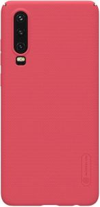 Чехол для Huawei P30 Nillkin Super Frosted Shield Red