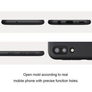 Чехол для Samsung Galaxy M20 Nillkin Super Frosted Shield Черный