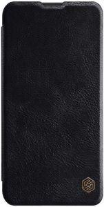 Кожаный чехол для Samsung Galaxy M10 Nillkin Qin Series Черный
