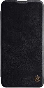 Кожаный чехол для Samsung Galaxy M20 Nillkin Qin Series Черный