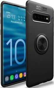 Чехол для Samsung Galaxy S10 Plus (G975) Deen ColorRing с креплением под магнитный держатель Черный / Черный