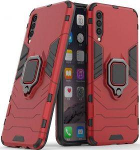 Ударопрочный чехол для Samsung A505F Galaxy A50 Transformer Ring под магнитный держатель Dante Red