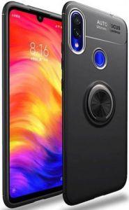Чехол для Xiaomi Redmi 7 Deen ColorRing с креплением под магнитный держатель Черный / Черный