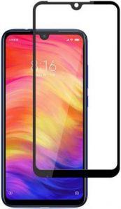 Защитное 3D-стекло для Xiaomi Redmi 7 ZiFriend 5D Full Face (full glue) Черный