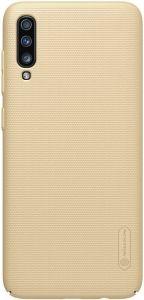 Чехол для Samsung Galaxy A70 (A705F) Nillkin Super Frosted Shield Gold