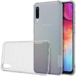 Чехол для Samsung A505F Galaxy A50 Nillkin Nature Series Серый