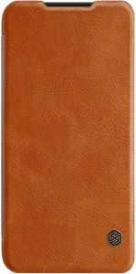 Кожаный чехол (книжка) для Xiaomi Redmi 7 Nillkin Qin Series Brown