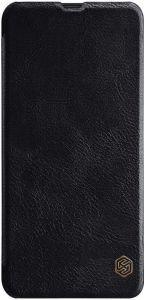 Кожаный чехол для Samsung Galaxy A20 / A30 Nillkin Qin Series Black