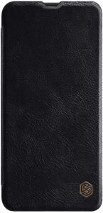 Кожаный чехол для Samsung A505F Galaxy A50 Nillkin Qin Series Черный