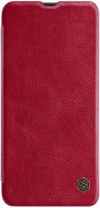 Кожаный чехол для Samsung A705F Galaxy A70 Nillkin Qin Series Красный