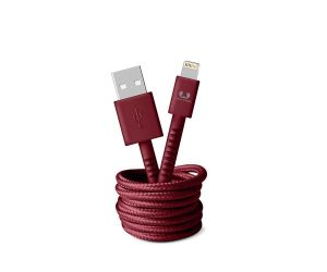 Кабель Fresh 'N Rebel Fabriq Lightning Cable 1,5m Ruby (2LCF150RU)
