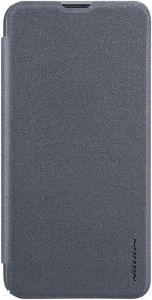 Кожаный чехол для Samsung Galaxy A10 (A105F) Nillkin Sparkle Series Black