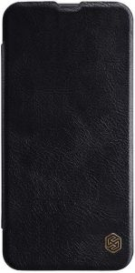 Кожаный чехол для Samsung Galaxy A40 (A405F) Nillkin Qin Series Black