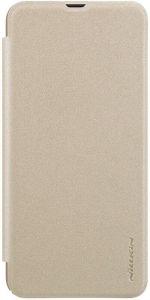 Чехол (книжка) для Samsung Galaxy A50 (A505F) Nillkin Sparkle Series Gold