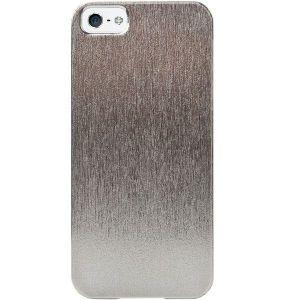 Чехол-хамелеон Capdase Karapace Jacket Silva Shimma Silver/Black для iPhone SE и iPhone 5/5S (KPIH5-SHS1)