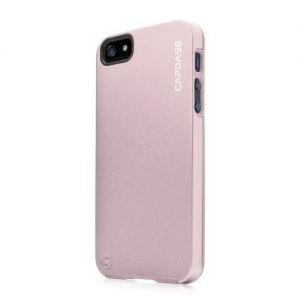 Металлический чехол Capdase Alumor Jacket Elli Pink/Pink для iPhone SE и iPhone 5/5S (MTIH5-5144)