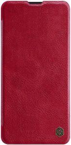 Кожаный чехол (книжка) для Xiaomi Redmi K20 / K20 Pro / Mi9T / Mi9T Pro Nillkin Qin Series Red