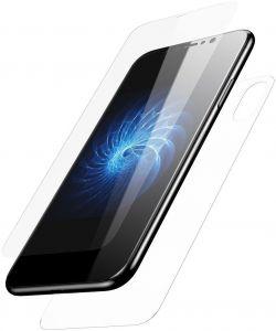 Набор защитных стекол на экран и заднюю панель iPhone X (5.8'') Baseus Tempered Glass Set (Front and Back) Transparent (SGAPIPH8-TZ02)