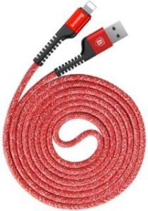 Кабель Baseus USB Cable to Lightning Confidant Anti-break 1.5m Red (CALZJ-B09)