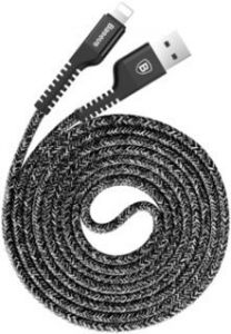 Кабель Baseus USB Cable to Lightning Confidant Anti-break 1.5m Black (CALZJ-B01)
