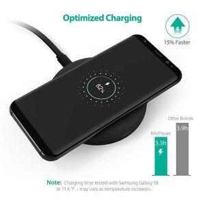 Беспроводное зарядное устройство RavPower Qi Wireless Charging Pad 10W Black (RP-PC014)