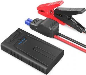 Внешний аккумулятор с автомобильным стартером RAVPower Car Jump Starter 1000A Peak Current Quick Charge 3.0 12V 14000mAh, Black