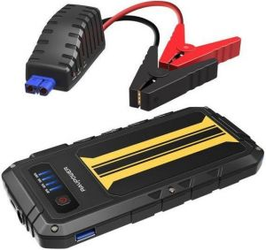 Внешний аккумулятор с автомобильным стартером RAVPower Car Jump Starter 8000mAh 300A Peak Current Quick Charge 3.0, Black/Yellow (RP-PB007)