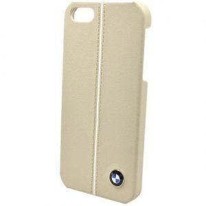 Кожаный чехол CG Mobile BMW Leather Hard Case Cream для iPhone SE и iPhone 5/5S (BMHCP5LC)