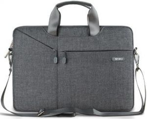 Сумка-чехол для MacBook 12'' (2015-2017) / Air 11'' (2011-2015) WIWU (Gearmax) Gent Business Bag Grey (GM4229MB11)