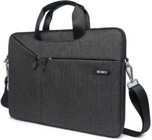 Сумка-чехол для MacBook 12'' (2015-2017) / Air 11'' (2011-2015) WIWU (Gearmax) Gent Business Bag Black (GM4229MB11)