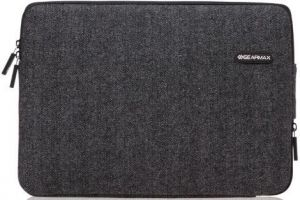 Чехол для MacBook Pro 13'' Retina (2009-2015) / Air 13'' (2010-2017) WIWU (Gearmax) London Woolen Classic Sleeve Black (GM1705MB13.3)
