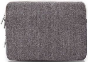 Чехол для MacBook 12'' (2015-2017) / Air 11'' (2011-2015) WIWU (Gearmax) London Woolen Classic Sleeve Grey (GM1705MB11.6)