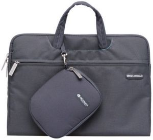 Сумка-чехол для MacBook 12'' (2015-2017) / Air 11'' (2011-2015) WIWU (Gearmax) Campus Slim Case Grey (GM3910MB11)