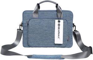 Сумка для MacBook Pro 15'' (2009-2018) WIWU (Gearmax) Gent Slim Carrying Case Blue (GM-39062MB15)