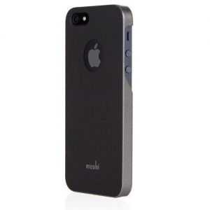 Чехол Moshi iGlaze Slim Case Graphite Black для iPhone SE и iPhone 5/5S (99MO061001)