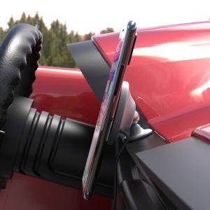Автомобильный держатель (до 7'') с беспроводным зарядным устройством FuseChicken Car and Desk Holder Wireless Charge Gravity Auto Grey