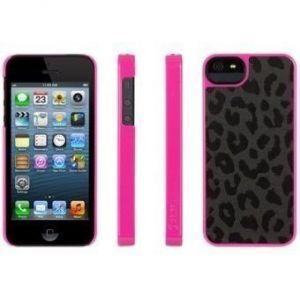 Чехол Griffin Moxy Case Series Big Cat Black/Pink для iPhone SE и iPhone 5/5S (GB35512)