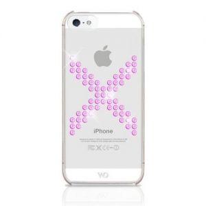 Чехол White Diamonds X Series Pink для iPhone SE и iPhone 5/5S (1210XIC41)
