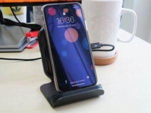 Беспроводное зарядное устройство RavPower Wireless Fast Qi Charging Stand 10W Black+ QC 3.0 Adapter (RP-PC070)