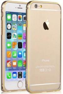 Бампер для iPhone 6 Plus / 6S Plus (5.5'') Devia Buckle Curve Champagne Gold