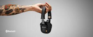 Bluetooth-гарнитура Marshall Headphones Monitor Bluetooth Black (4091743)