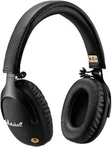 Bluetooth-гарнитура Marshall Headphones Monitor Bluetooth Black (4091743)