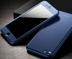Чехол для iPhone 8/7 (4.7'') Baseus Fully Protection Case Blue (WIAPIPH8N-BA03)