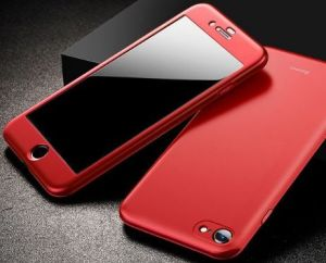 Чехол для iPhone 8/7 (4.7'') Baseus Fully Protection Case Red (WIAPIPH8N-BA09)