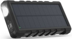 Внешний аккумулятор RavPower Power Bank 25000mAh Solar Charger Black (RP-PB083)