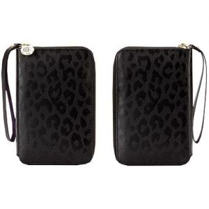 Кожаный чехол Griffin Zip Wallet Cheetah для Large Phones (GB35605)