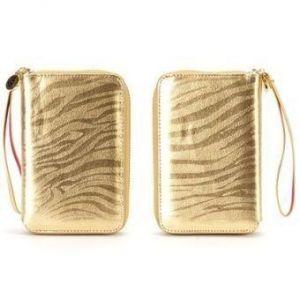 Кожаный чехол Griffin Zip Wallet Zebra для Large Phones (GB35606)