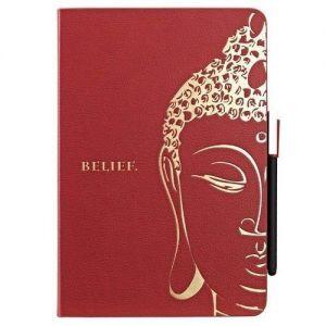 Чехол Ozaki O!coat Wisdom Buddhist Scripture Red для iPad Mini/iPad Mini 2/iPad Mini 3 (OC103SR)